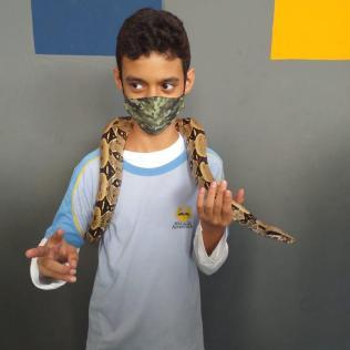 Arthur Lengruber Leitão (13), do 9 ano.