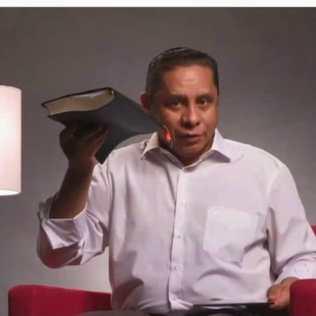 Classe bíblica com pastor Luís Gonçalves (Foto: Reprodução)
