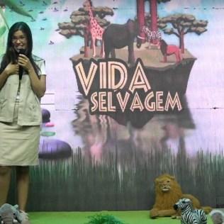 Escola Cristã de Férias teve transmissão online. Na imagem, a líder do Ministério da Criança para a região sul da Bahia, Mônica Noya. (Imagem: reprodução)