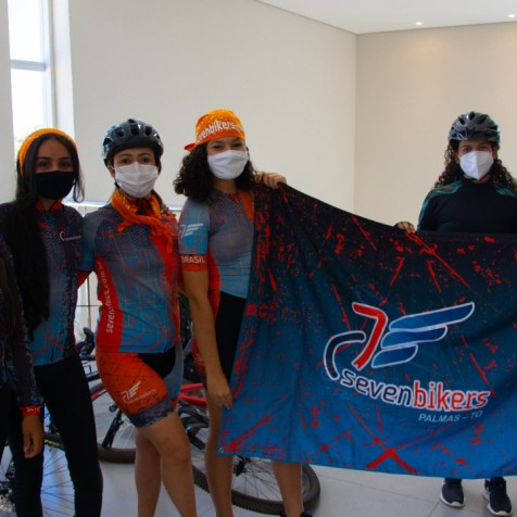 Ministério do Seven Bikers apresentam seus projetos