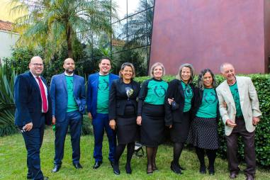 Equipe de ASA da Igreja de Vila Guilhermina(Foto: Davi Rodrigues).