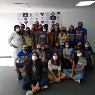 Equipe de voluntários do IBE.