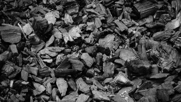 Carvão vegetal (carvão ativado) é uma forma de carbono puro