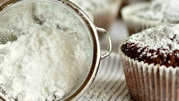 Açúcar de confeiteiro tem granulação mais fina que o refinado