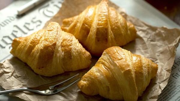 Croissant é um pão de origem francesa muito comum no Brasil