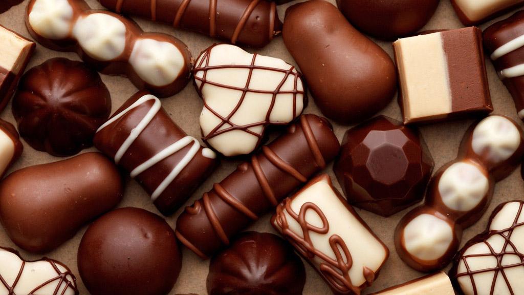 melhores chocolates