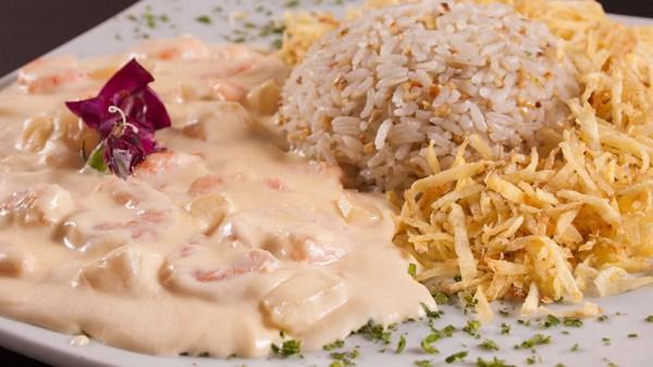 Estrogonofe de camarão é uma das variações mais requintadas do prato