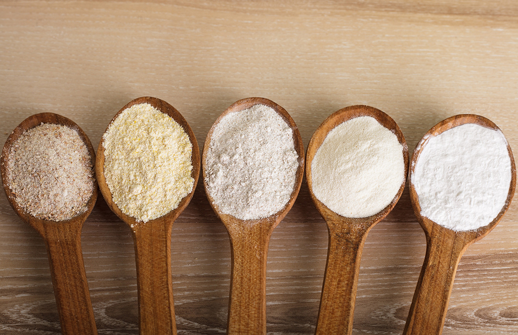 Tipos de farinha