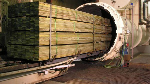 Tratamento de madeira visa protegê-la da ação do tempo