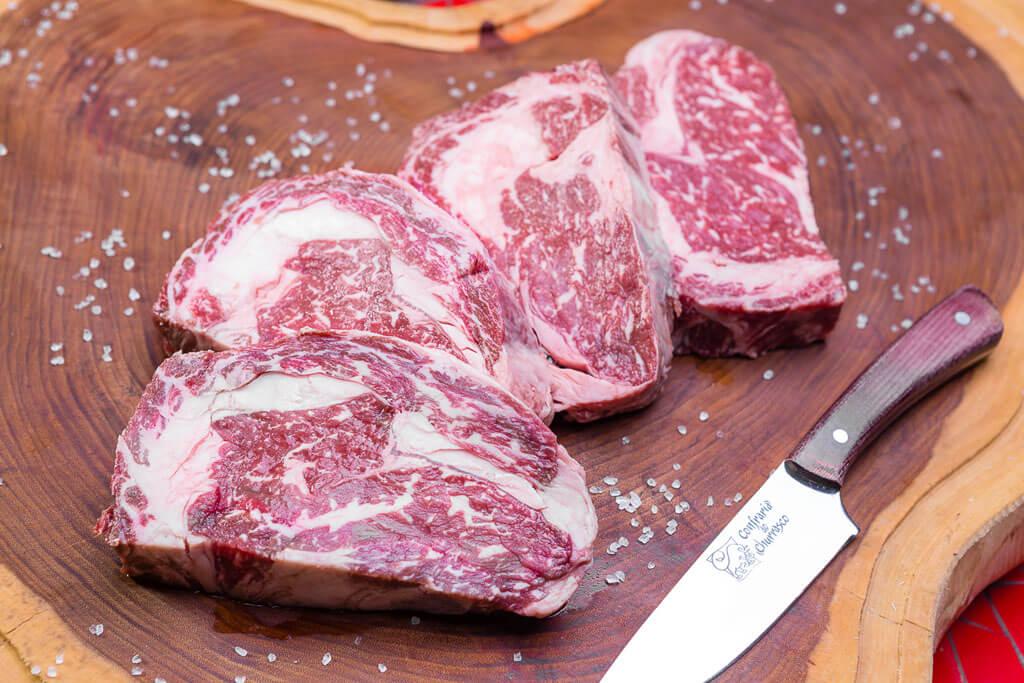 carne marmorizada