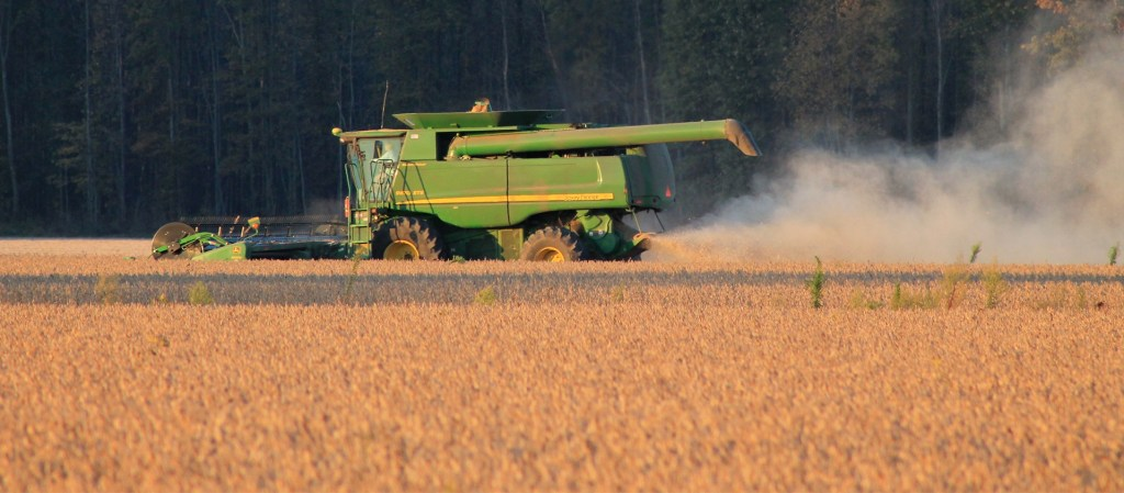 produção agrícola, trataor agrícola