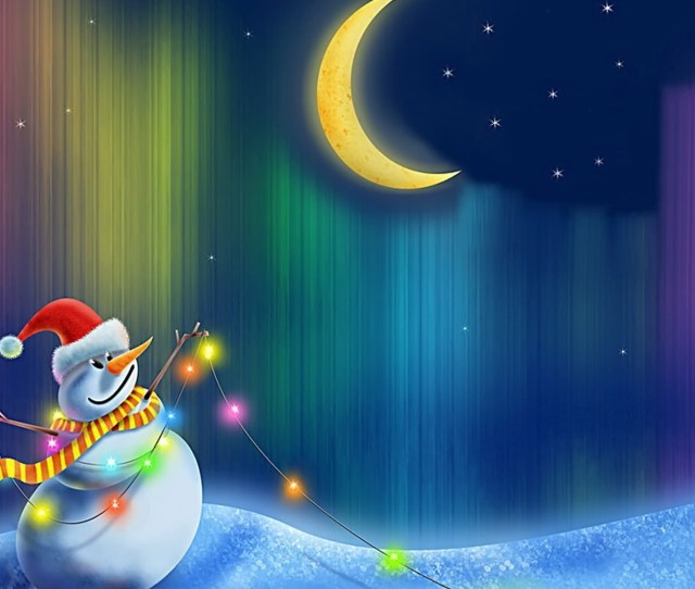 Happy Snowman Wallpaper Christmas Holidays Wallpapers
