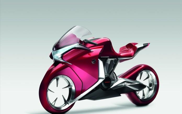 honda v4 concept widescreen bike wallpapers in jpg format for free