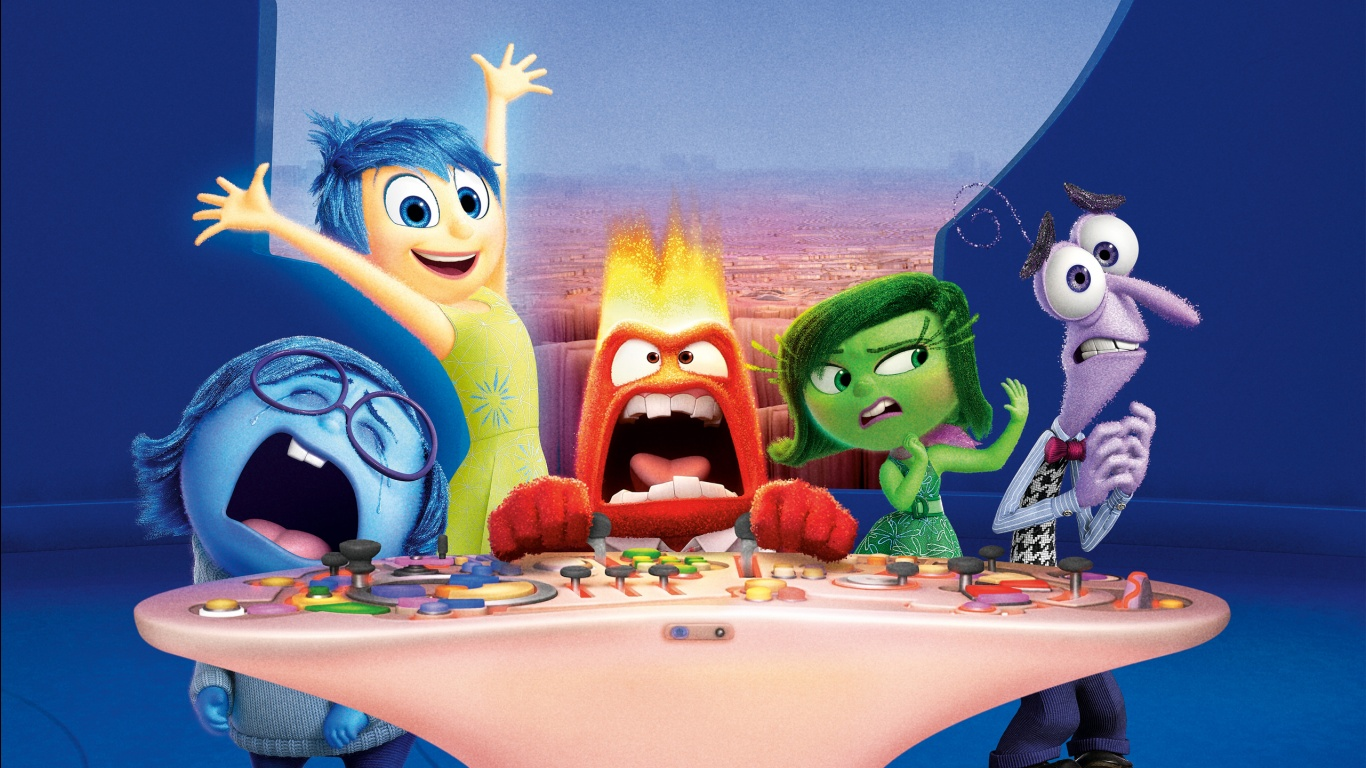 Inside Out Riley S Emotions Wallpapers In Format For