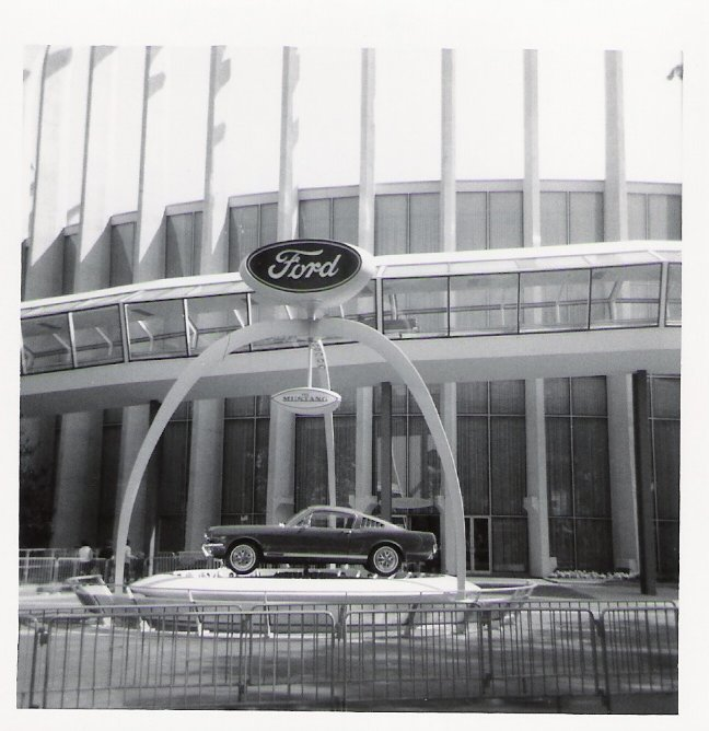 Ford Mustang at the Worlds Fair, 1964