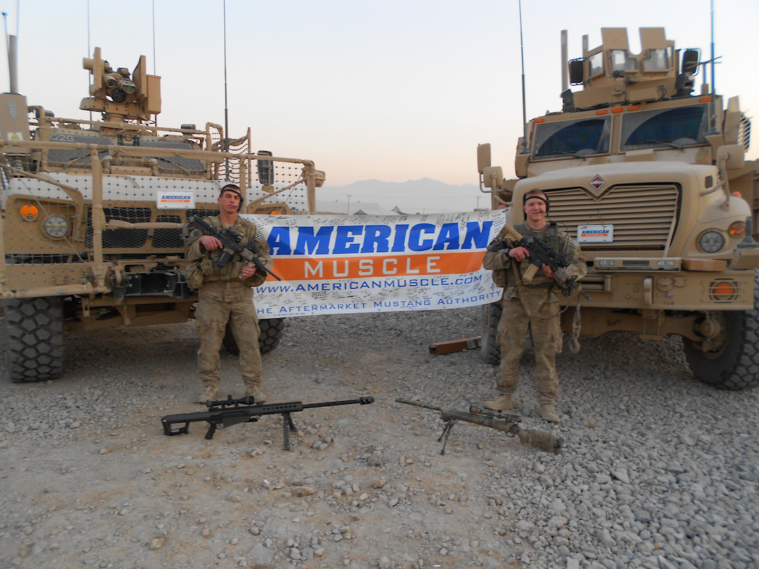 AmericanMuscle.com Shows Love to US Troops in Afghanistan!