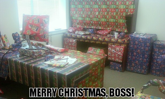 Merry Christmas, Boss!