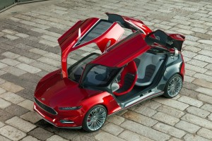 2011 Evos Concept Car by Ford