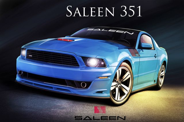 Ford Mustang 2014 Saleen 351