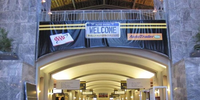 2013 Philadelphia Auto Show Entrance