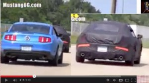 2015 Mustang and Old Mustang Comparison