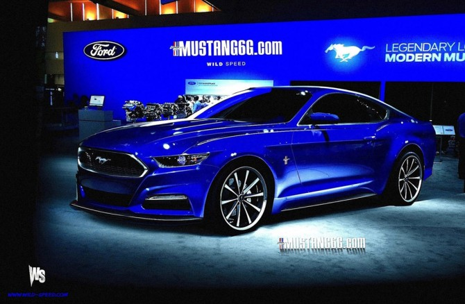 2015 Mustang Design Rendering
