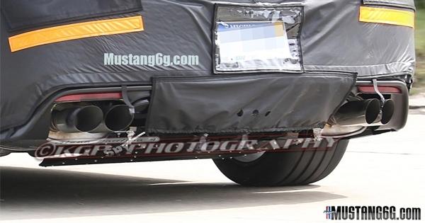 2015 SVT Cobra Exhaust