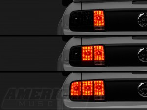 Mustang LED Sequential Tail Light Kit