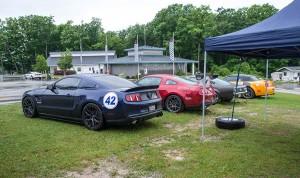 2011 Supercharged V6 Mustang at Raod America
