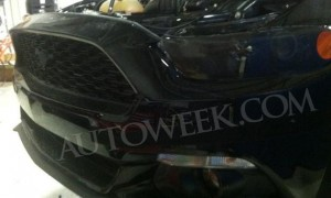 2015 Mustang Front Grille & Headlight Spy Shot
