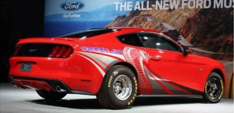 2015 Mustang Cobra Jet Rear Rendering