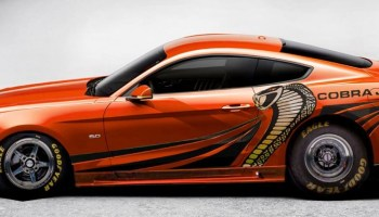 The King is Back Ford Announces Insane 10 Second 2015 King Cobra