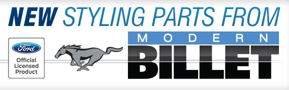 Ford Logo Mustang Parts By Modern Billet