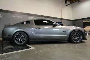 Mustang With AMR Wheels