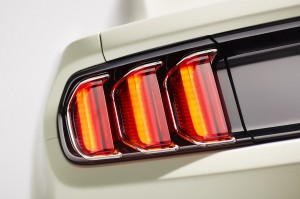 2015 Mustang Chrome Tail Light Bezels