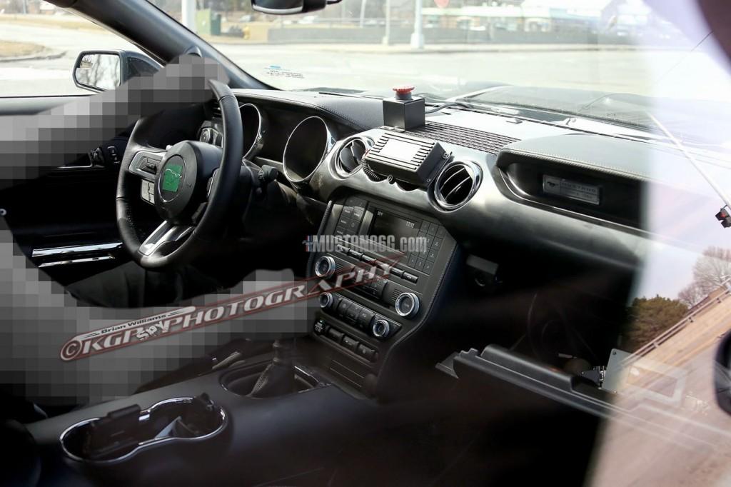 GT350 Mustang Interior