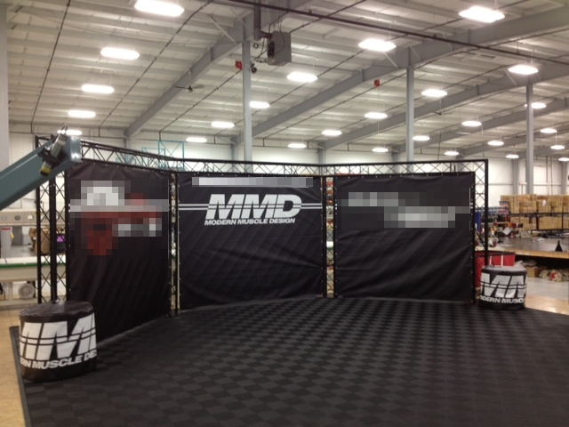 MMD's Booth at Mustang 50th Birthday