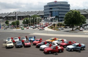 Mustang's 50th Anniversary - Charlotte Motor Speedway