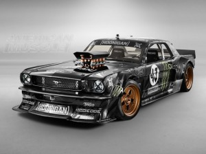 Ken Block's Hoonicorn 1965 AWD Mustang at SEMA