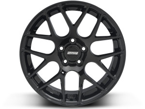 AMR Black Mustang Wheels