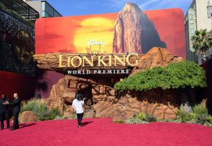 "PHOTOS:  Beyonce and more attend world premier of ""The Lion King"" 12"