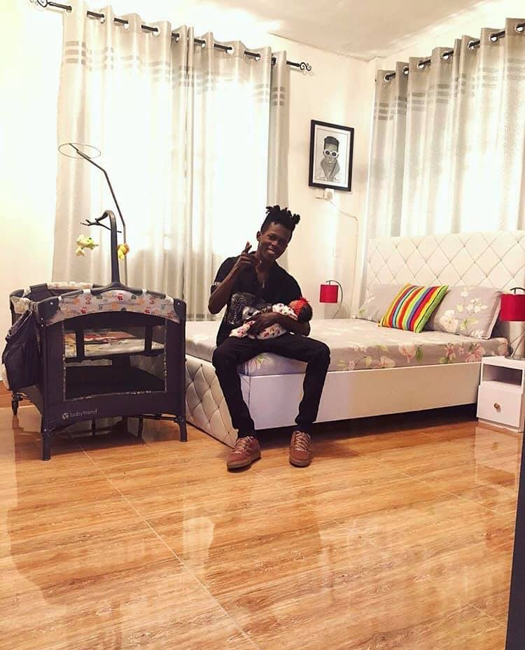 Rapper, Strongman shares photo of his daughter, as he announces upcoming music video