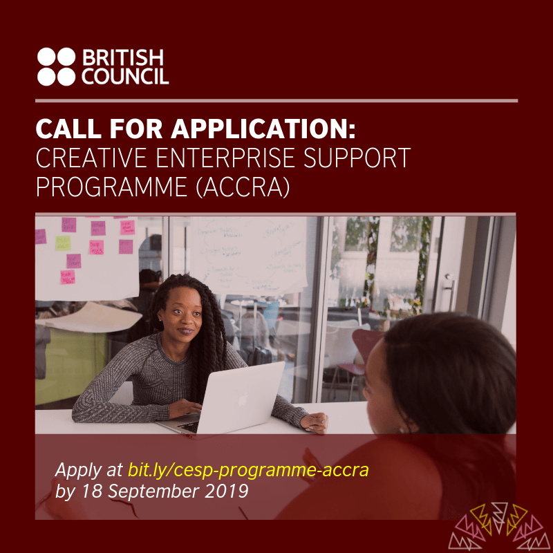 Call for Entry: The British Council Creative Enterprise Support Programme