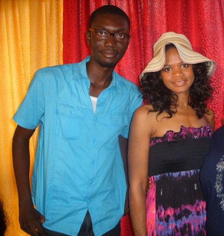 Ameyaw Debrah with Kimberly Elise