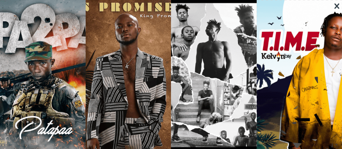 Top 10 Ghanaian music albums and EPs released in 2019