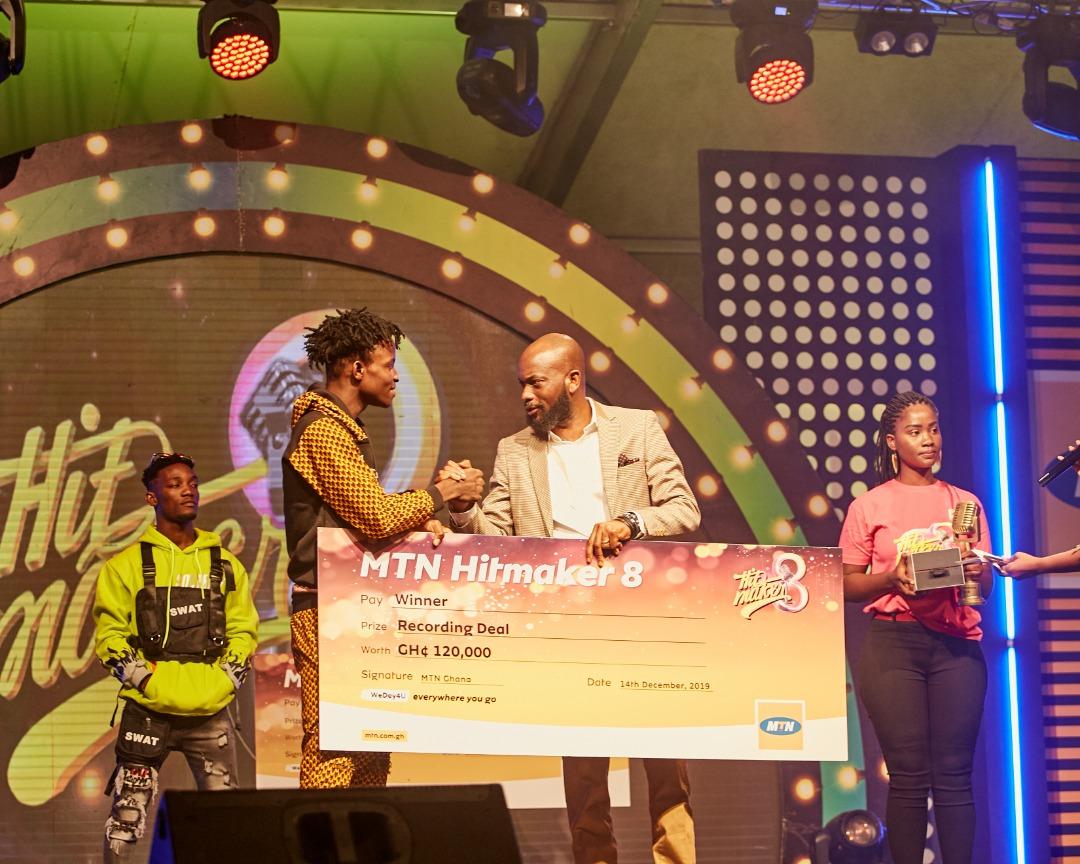 Lasmid wins MTN Hitmaker Season 8