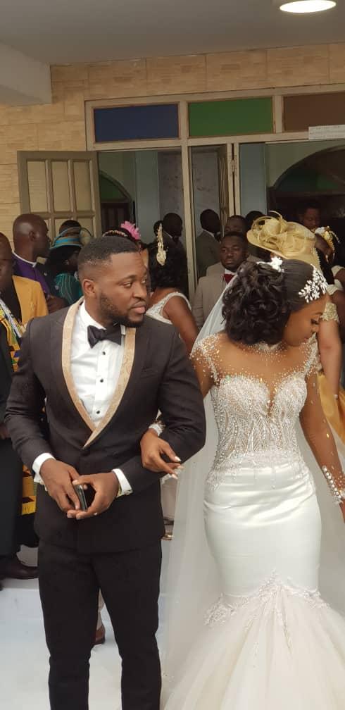 Kennedy Osei and Tracy Ameyaw Wedding 1 - See Stunning Photos From Kennedy Osei & Tracy Ameyaw White Wedding