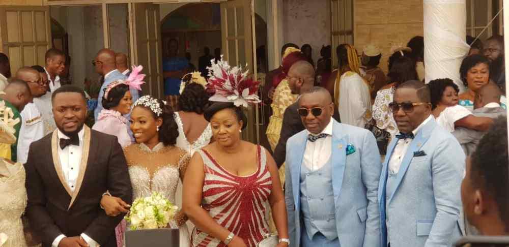 Kennedy Osei and Tracy Ameyaw Wedding 9 - See Stunning Photos From Kennedy Osei & Tracy Ameyaw White Wedding