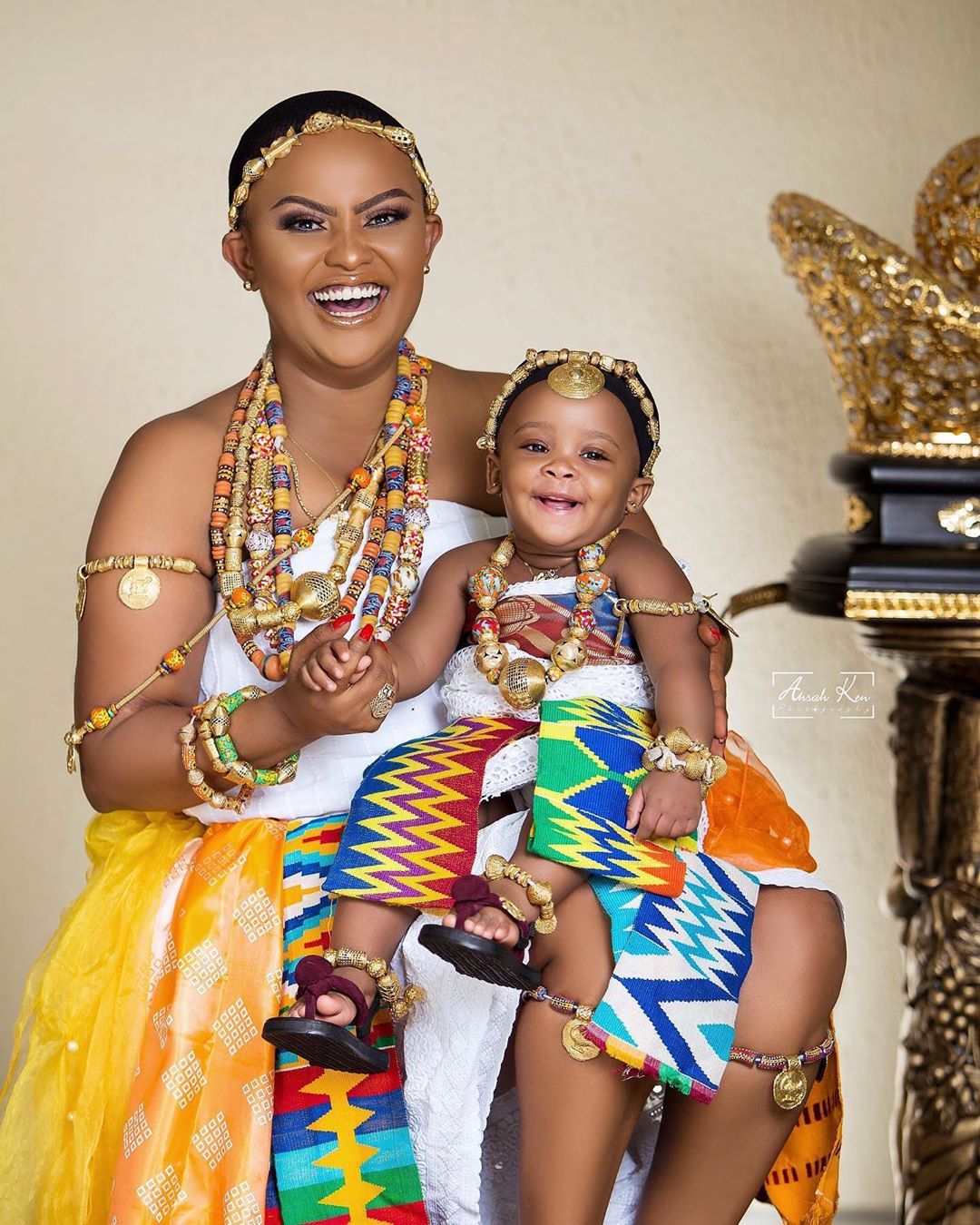 Photos: Nana Ama McBrown celebrates her baby's first birthday