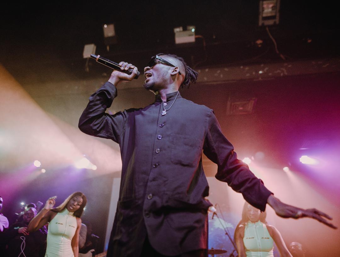 King Promise show in London, dawuroGH
